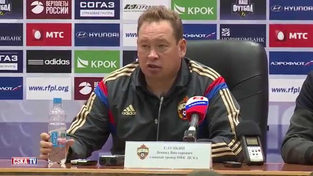 Слуцкий о победе над Локомотивом