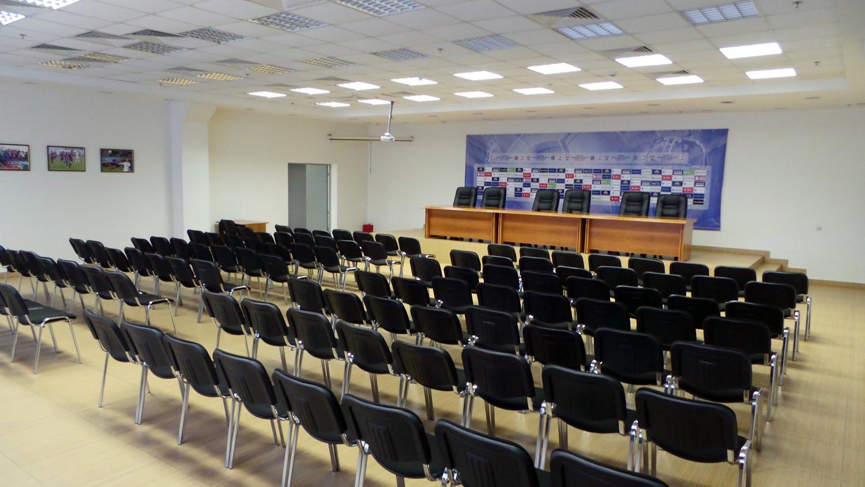 Пресс-конференция Леонида Слуцкого и Алексея Березуцкого