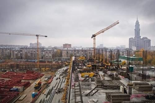 Как вМоскве строят стадион ЦСКА