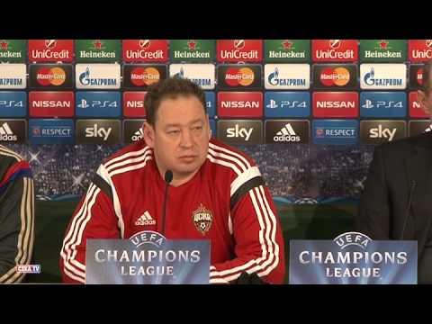 Слуцкий и Игнашевич о предстоящем матче с Баварией